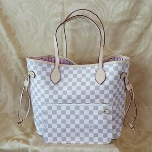 MM checkered tote combo